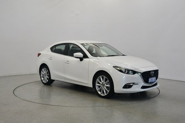 Used Mazda 3 BN5238 SP25 SKYACTIV-Drive, 2018 Mazda 3 BN5238 SP25 SKYACTIV-Drive White 6 Speed Sports Automatic Sedan