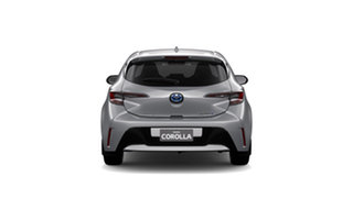 2019 Toyota Corolla ZWE211R SX E-CVT Hybrid Silver Pearl 10 Speed Constant Variable Hatchback Hybrid