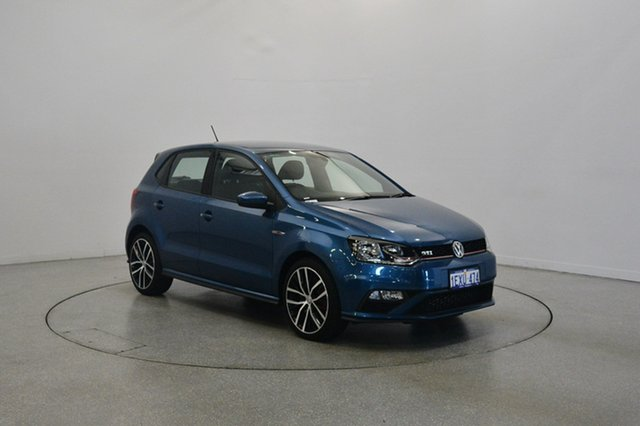 Used Volkswagen Polo 6R MY15 GTI DSG, 2015 Volkswagen Polo 6R MY15 GTI DSG Blue Silk Metallic 7 Speed Sports Automatic Dual Clutch