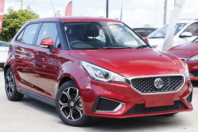 New MG MG3 SZP1 MY18 Excite, 2019 MG MG3 SZP1 MY18 Excite Bristol Red 4 Speed Automatic Hatchback