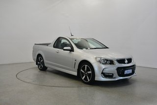 2017 Holden Ute VF II MY17 SV6 Ute Silver 6 Speed Sports Automatic Utility