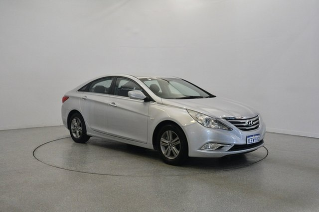 Used Hyundai i45 YF MY11 Active, 2012 Hyundai i45 YF MY11 Active Sleek Silver 6 Speed Sports Automatic Sedan