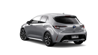2019 Toyota Corolla ZWE211R ZR E-CVT Hybrid Silver Pearl 10 Speed Constant Variable Hatchback Hybrid