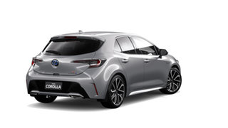 2019 Toyota Corolla ZWE211R ZR E-CVT Hybrid Silver Pearl 10 Speed Constant Variable Hatchback Hybrid.
