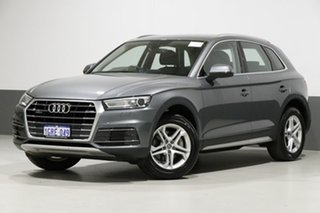 2017 Audi Q5 FY MY17 2.0 TDI Quattro Design Grey 7 Speed Auto S-Tronic Wagon.