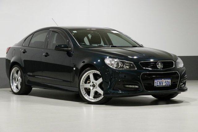 Used Holden Commodore VF SS, 2014 Holden Commodore VF SS Regal Peacock 6 Speed Manual Sedan