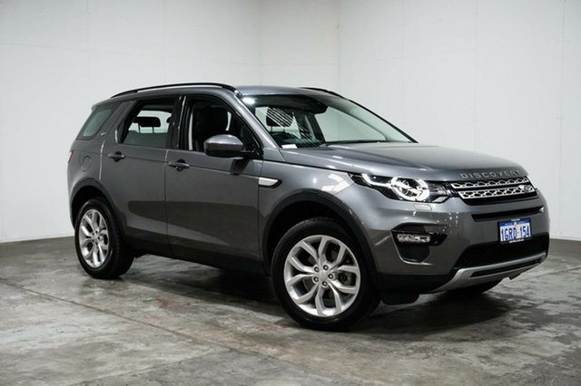 Used Land Rover Discovery Sport L550 17MY TD4 180 HSE, 2017 Land Rover Discovery Sport L550 17MY TD4 180 HSE Grey 9 Speed Sports Automatic Wagon