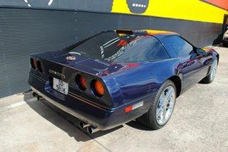 1989 Chevrolet Corvette Blue Automatic Coupe.