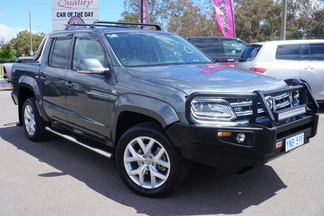 Used Volkswagen Amarok 2H MY17.5 TDI550 4MOTION Perm Ultimate, 2017 Volkswagen Amarok 2H MY17.5 TDI550 4MOTION Perm Ultimate Indium Grey 8 Speed Automatic Utility