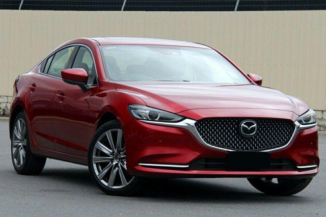 New Mazda 6 GL1032 Atenza SKYACTIV-Drive, 2019 Mazda 6 GL1032 Atenza SKYACTIV-Drive Soul Red Crystal 6 Speed Sports Automatic Sedan