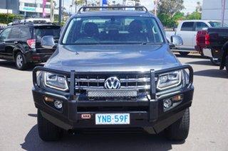 2017 Volkswagen Amarok 2H MY17.5 TDI550 4MOTION Perm Ultimate Indium Grey 8 Speed Automatic Utility.
