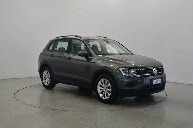 Used Volkswagen Tiguan 5N MY17 110TSI DSG 2WD Trendline, 2017 Volkswagen Tiguan 5N MY17 110TSI DSG 2WD Trendline Silver 6 Speed Sports Automatic Dual Clutch