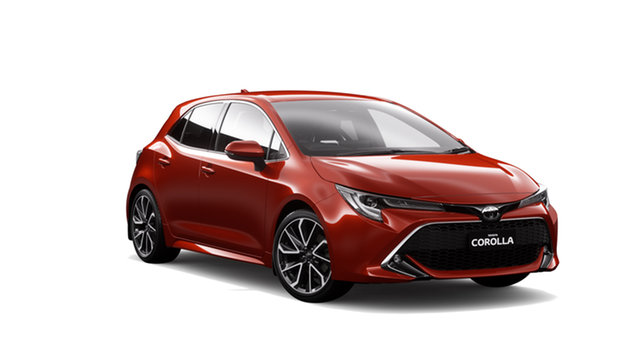 New Toyota Corolla Mzea12R ZR Oakleigh, 2019 Toyota Corolla Mzea12R ZR Feverish Red 10 Speed Constant Variable Hatchback