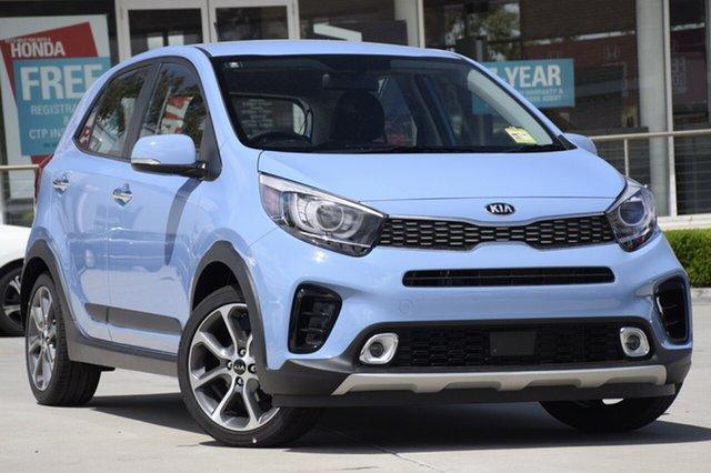 Demo Kia Picanto JA MY19 AO Edition, 2018 Kia Picanto JA MY19 AO Edition Alice Blue 4 Speed Automatic Hatchback
