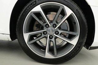 2017 Audi A4 F4 MY17 (B9) 2.0 TFSI S Tronic Sport Ibis White 7 Speed Auto Dual Clutch Sedan