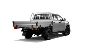 2019 Toyota Hilux GUN126R SR Double Cab Silver Sky 6 Speed Sports Automatic Cab Chassis.