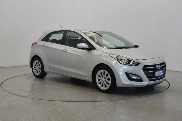 Used Hyundai i30 GD4 Series II MY17 Active, 2017 Hyundai i30 GD4 Series II MY17 Active Platinum Silver Metallic 6 Speed Sports Automatic