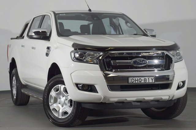 Used Ford Ranger PX MkII XLT Double Cab, 2016 Ford Ranger PX MkII XLT Double Cab White 6 Speed Sports Automatic Utility