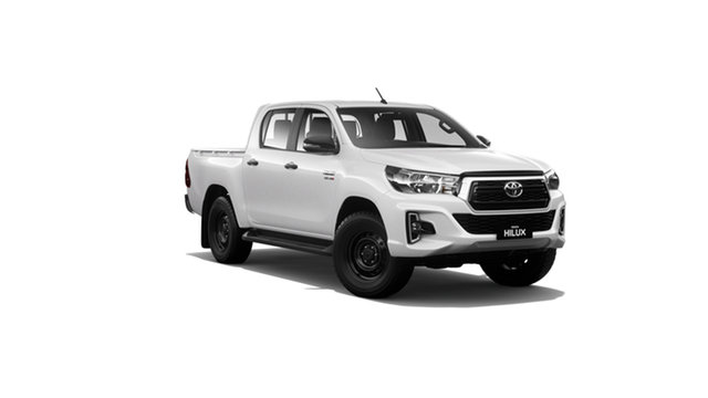 New Toyota Hilux GUN126R SR Double Cab Albion, 2020 Toyota Hilux GUN126R SR Double Cab Glacier White 6 Speed Sports Automatic Utility