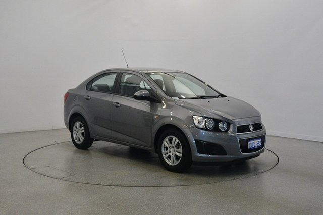 Used Holden Barina TM MY13 CD, 2012 Holden Barina TM MY13 CD Grey 5 Speed Manual Sedan