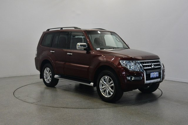 Used Mitsubishi Pajero NX MY17 GLX, 2017 Mitsubishi Pajero NX MY17 GLX Red 5 Speed Sports Automatic Wagon