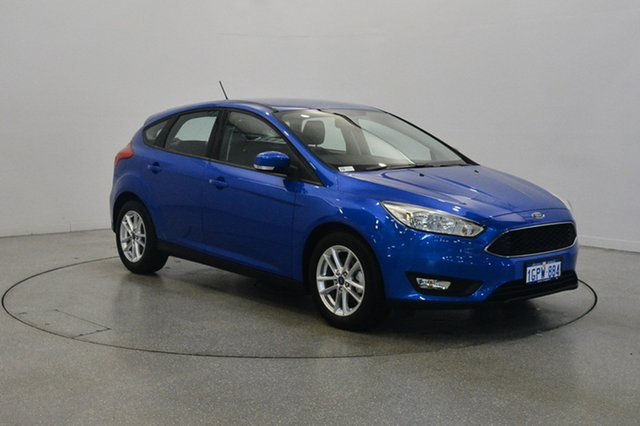 Used Ford Focus LZ Trend, 2018 Ford Focus LZ Trend Blue 6 Speed Automatic Hatchback