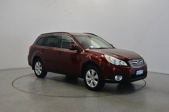 Used Subaru Outback B5A MY12 2.5i Lineartronic AWD, 2012 Subaru Outback B5A MY12 2.5i Lineartronic AWD Burgundy 6 Speed Constant Variable Wagon