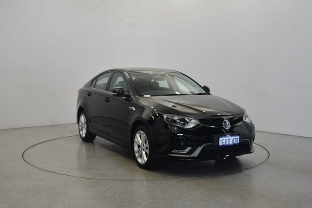 Used MG MG6 IP2X Excite, 2017 MG MG6 IP2X Excite Black 6 Speed Sports Automatic Dual Clutch Hatchback