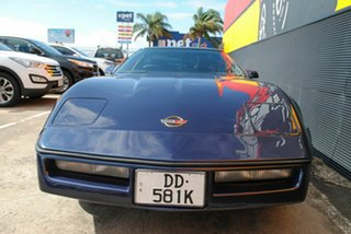 1989 Chevrolet Corvette Blue Automatic Coupe