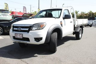 2010 Ford Ranger PK XL 4x2 White 5 Speed Manual Cab Chassis