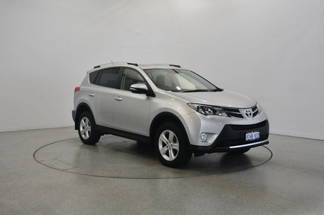 Used Toyota RAV4 ASA44R Cruiser AWD, 2013 Toyota RAV4 ASA44R Cruiser AWD White 6 Speed Sports Automatic Wagon
