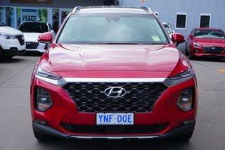 2018 Hyundai Santa Fe TM MY19 Highlander Horizon Red 8 Speed Sports Automatic Wagon.