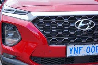 2018 Hyundai Santa Fe TM MY19 Highlander Horizon Red 8 Speed Sports Automatic Wagon