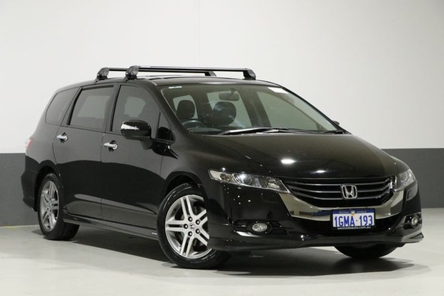 Used Honda Odyssey RB Luxury, 2010 Honda Odyssey RB Luxury Black 5 Speed Automatic Wagon