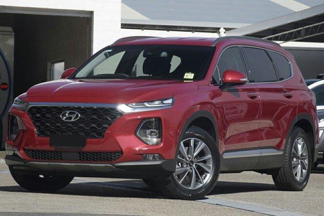 New Hyundai Santa Fe TM MY19 Elite, 2019 Hyundai Santa Fe TM MY19 Elite Horizon Red 8 Speed Sports Automatic Wagon