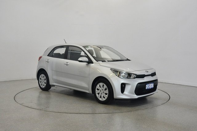 Used Kia Rio YB MY18 S, 2017 Kia Rio YB MY18 S Silky Silver 4 Speed Sports Automatic Hatchback
