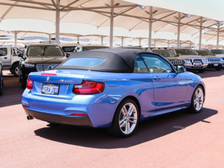 2015 BMW 220i F23 M Sport Blue 8 Speed Automatic Convertible