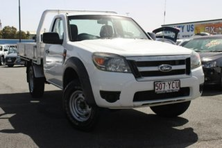 2010 Ford Ranger PK XL 4x2 White 5 Speed Manual Cab Chassis.