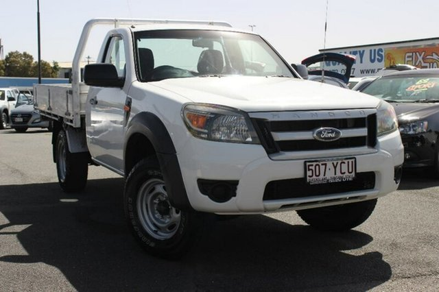 Used Ford Ranger PK XL 4x2, 2010 Ford Ranger PK XL 4x2 White 5 Speed Manual Cab Chassis