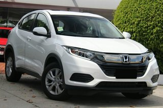 2021 Honda HR-V MY21 VTi Taffeta White 1 Speed Constant Variable Hatchback.