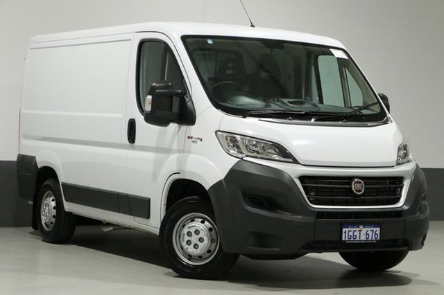 Used Fiat Ducato Series 6 (MY17) SWB/LOW, 2017 Fiat Ducato Series 6 (MY17) SWB/LOW White 6 Speed Automatic Van