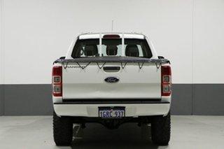 2014 Ford Ranger PX XL 3.2 (4x4) White 6 Speed Manual Dual Cab Utility