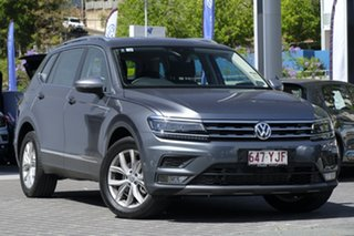 2018 Volkswagen Tiguan 5N MY18 110TDI DSG 4MOTION Comfortline Platinum Grey 7 Speed.