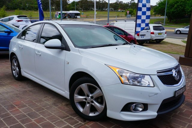 Used Holden Cruze JH Series II MY12 SRi, 2012 Holden Cruze JH Series II MY12 SRi White 6 Speed Manual Sedan