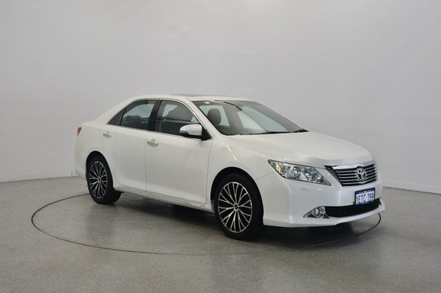 Used Toyota Aurion GSV50R Presara, 2014 Toyota Aurion GSV50R Presara White 6 Speed Sports Automatic Sedan
