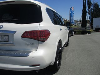 2015 Infiniti QX80 Z62 S Premium White 7 Speed Sports Automatic Wagon