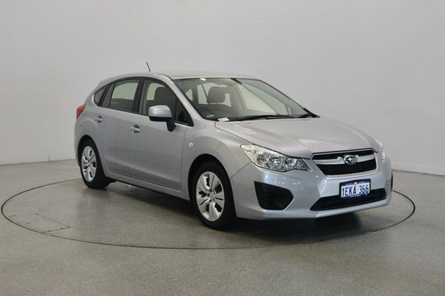 Used Subaru Impreza G4 MY13 2.0i AWD, 2013 Subaru Impreza G4 MY13 2.0i AWD Silver 6 Speed Manual Hatchback