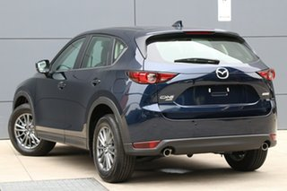 2021 Mazda CX-5 KF4WLA Touring SKYACTIV-Drive i-ACTIV AWD Deep Crystal Blue 6 Speed Sports Automatic.