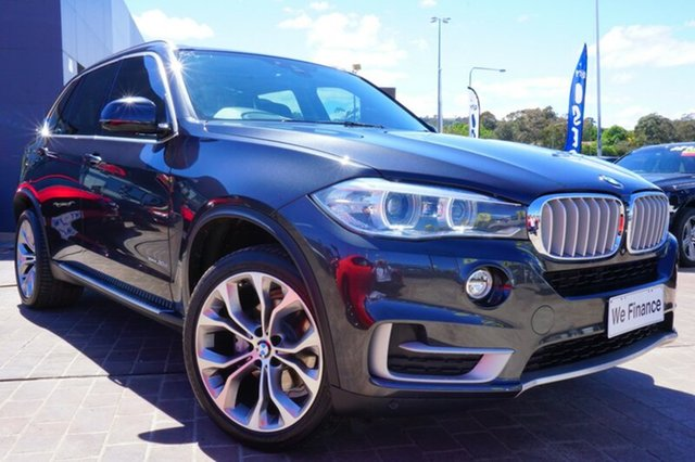 Used BMW X5 F15 xDrive30d, 2014 BMW X5 F15 xDrive30d Sophisto Grey 8 Speed Sports Automatic Wagon