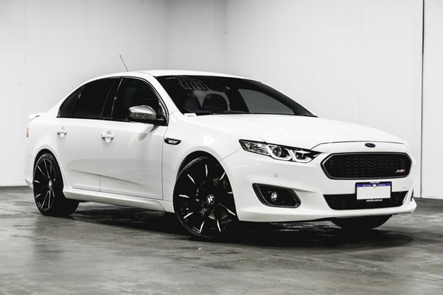 Used Ford Falcon FG X XR6 Turbo, 2015 Ford Falcon FG X XR6 Turbo Winter White 6 Speed Manual Sedan